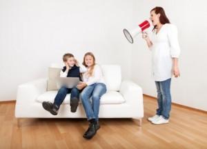 ребенок руководит родителями спокойно разговаривать