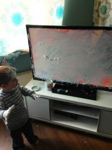 мы с сережкой не смогли настроить телевизор