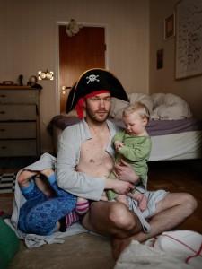 Мы с папой пираты