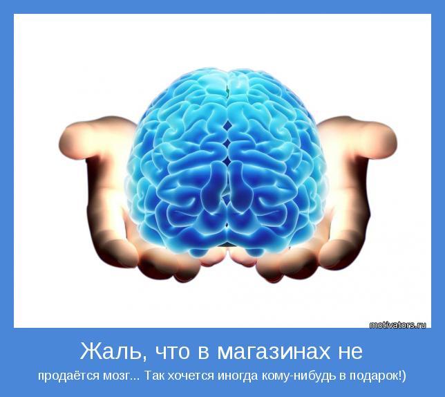 Как было бы хорошо подарить кому нибудь мозги