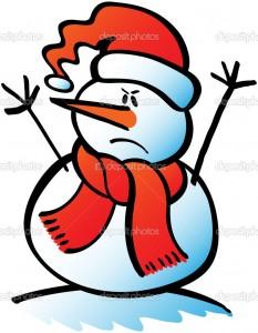 снеговики раньше изобрадались злыми