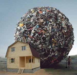 чистота тела выбросить хлам мусор