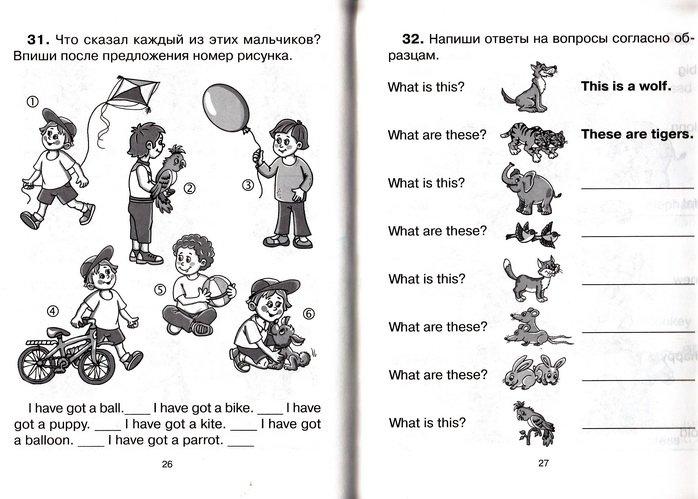 Мой личный опыт работы с младшеклассниками Английские