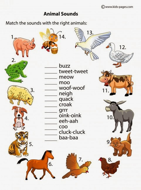 детский тест по английскому