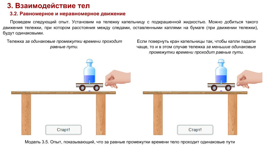 тест по физике опят с водой