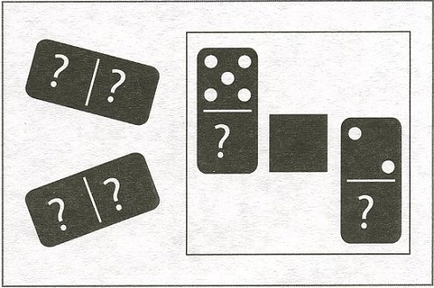 тест на внимаельность2 домино