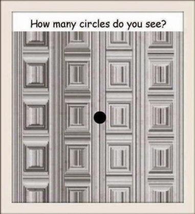 тесты на внимательность как много кругов