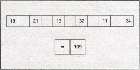 тест на внимание подумай про порядок цифр