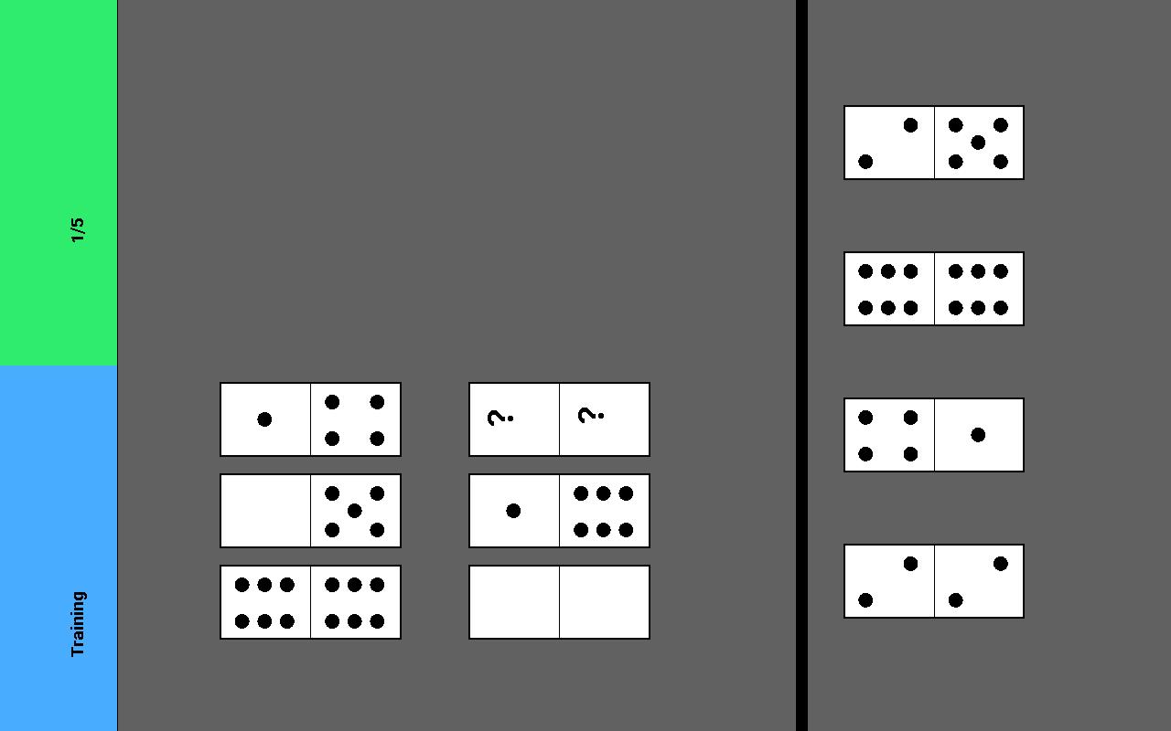 тест на логику домин