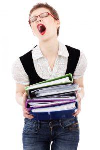 как вызвать стресс работой