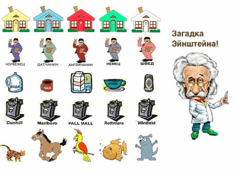 реши загадку Эйнштейна на psiin.ru